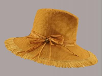 Cappello paglia fiocco