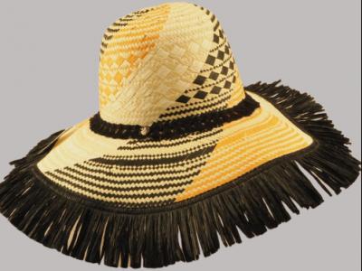 Cappello paglia spazzola