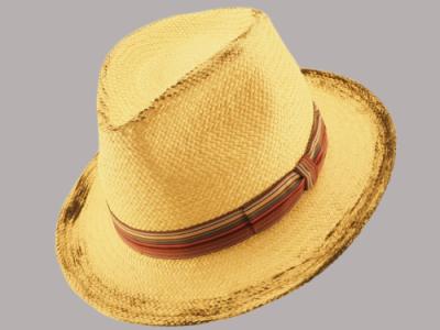 Cappello paglia cintura