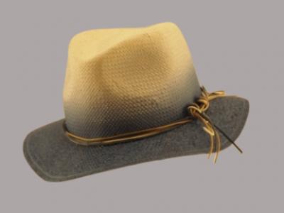 Cappello paglia sfumato