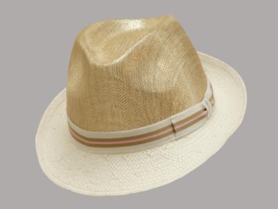 Cappello paglia chiaro