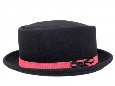 Cappello nero a cilindro