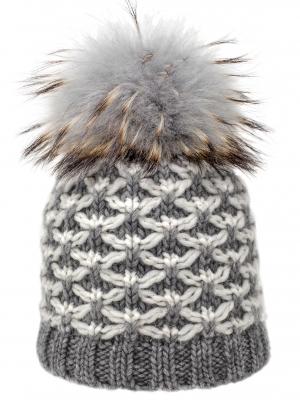 Cappello grigio a rete